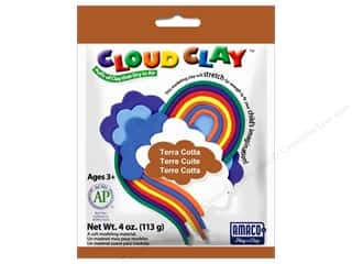 AMACO: AMACO Cloud Clay 4 oz. Terra Cotta