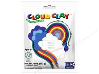 AMACO: AMACO Cloud Clay 4 oz. White