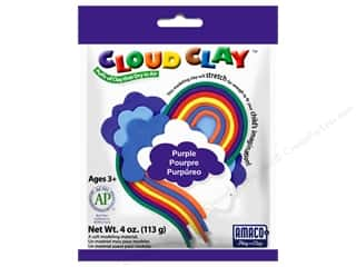 AMACO: AMACO Cloud Clay 4 oz. Purple
