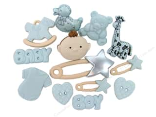 craft & hobbies: Jesse James Dress It Up Embellishments Baby Boy