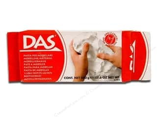 craft & hobbies: DAS Air-Hardening Clay 1.1 lb. White
