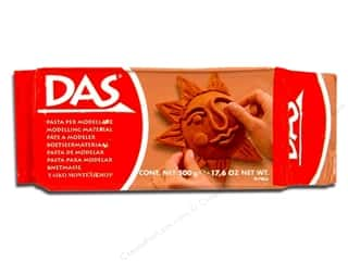 DAS Air-Hardening Clay 1.1 lb. Terracotta