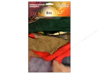 leather factory jewelry: Leather Factory Premium Leather Pack 1 lb Assorted