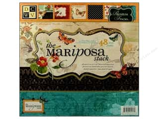 Cardstock: Die Cuts with a View 12 x 12 in. Paper Stack Mariposa