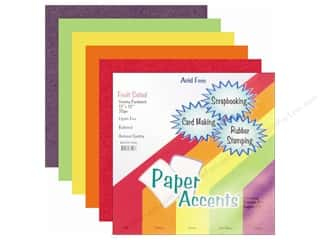 Cardstock Variety Pack 12 x 12 in. Fruit Salad 20 pc. by Paper Accents