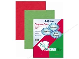 Cardstock Variety Pack 8 1/2 x 11 in. Christmas 25 pc. by Paper Accents