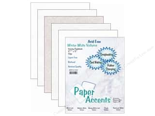 Cardstock Variety Pack 8 1/2 x 11 in. Winter White Vellums 10 pc. by Paper Accents