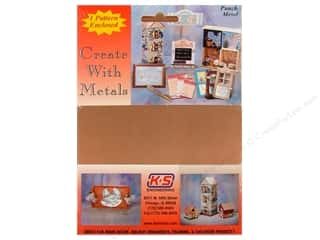 """Clearance Punch Studio Decorative Magnet: K&S Punch Metal Copper Sheet 5""""x 7"""""""