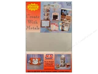 """Clearance Punch Studio Decorative Magnet: K&S Punch Metal Tin Sheet 5""""x 7"""""""