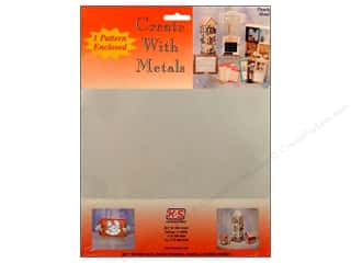 """Clearance Punch Studio Decorative Magnet: K&S Punch Metal Tin Sheet 8""""x 10"""""""