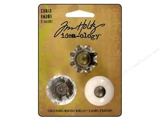 craft & hobbies: Tim Holtz Idea-ology Curio Knobs 3 pc.