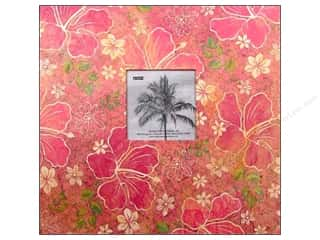 Pioneer Scrapbook Album 12 x 12 in. Tropical Frame Hibiscus