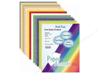 Cardstock Variety Pack 8 1/2 x 11 in. Assorted 40 pc. by Paper Accents