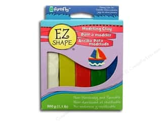 Polyform EZ Shape Modeling Clay 5 pc. Primary Color Set