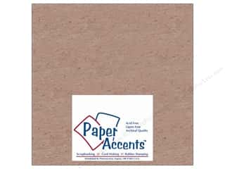 scrapbooking & paper crafts: Paper Accents Chipboard 8 x 8 in. 52 pt. Extra Heavy Natural (25 sheets)
