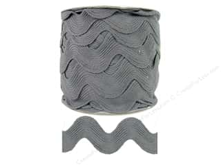 Jumbo Ric Rac by Cheep Trims  1 13/32 in. Grey