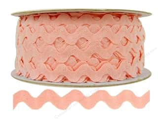 Ric Rac by Cheep Trims  1/2 in. Light Pink