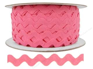 Ric Rac by Cheep Trims  1/2 in. Dark Pink