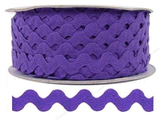 "Cheep Trims Ric Rac 1/2"": Ric Rac by Cheep Trims  1/2 in. Purple (24 yards)"