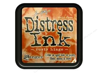 Tim Holtz Distress Ink Pad by Ranger Rusty Hinge