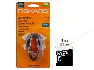 Fiskars Corner Lever Punch Scroll