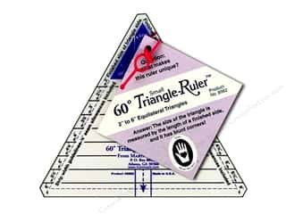ruler: Marti Michell 60-degree Triangle Ruler - Small