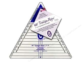 Marti Michell 60-degree Triangle Ruler - Large