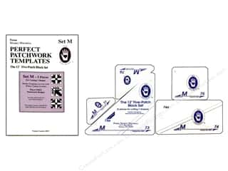 ruler: Marti Michell Perfect Patchwork Templates Set M - 5-Patch
