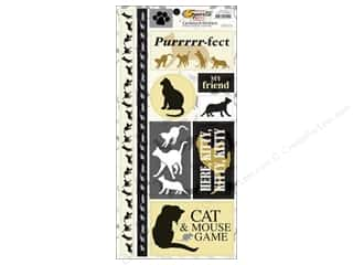 stickers  cardstock: Scrappin Sports Sticker Cardstock Down on the Farm Cats