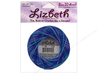 yarn & needlework: Lizbeth Thread Size 20  #122 Caribbean