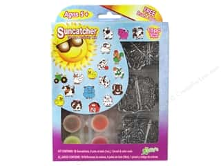 craft & hobbies: Kelly's Suncatcher Group Activity Kit 18 pc. Farm