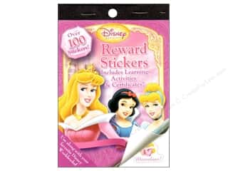Bendon Reward Stickers Book Disney Princess