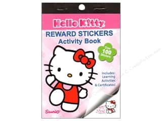 books & patterns: Bendon Reward Stickers Book Hello Kitty