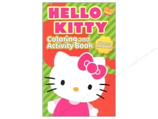 Bendon Coloring & Activity Book with Stickers Hello Kitty