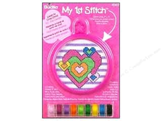 yarn & needlework: Bucilla Counted Cross Stitch Kit 3 in. Mini Heart
