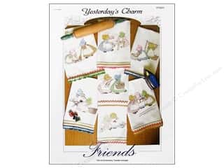 Yesterday's Charm Iron-On Embroidery Transfer - Friends