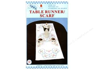 stamps: Jack Dempsey Table Runner/Scarf Starburst Hearts