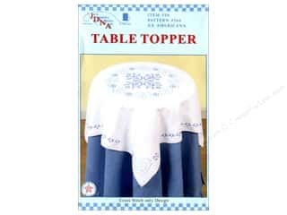 "stamps: Jack Dempsey Table Topper White 35"" XX Americana"