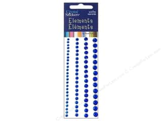 scrapbooking & paper crafts: Mark Richards Crystal Stickers Round Blue 3 to 6 mm