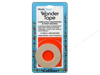 Double Sided Tape: Wash Away Wonder Tape by Collins 1/4 in. x 10 yd.