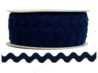 Ric Rac by Cheep Trims  1/2 in. Navy