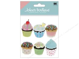 Jolee's Boutique Stickers Vellum Cupcakes