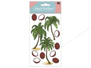 Jolee's Boutique Stickers Large Coconut Palms
