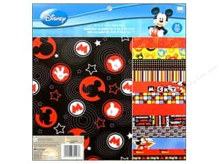 "Everything You Love Sale Scrapbooking: EK Paper Pad 12""x 12"" Disney Mickey"