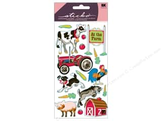 scrapbooking & paper crafts: EK Sticko Stickers Farm Animals