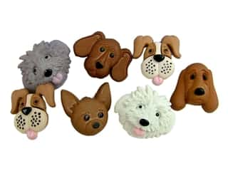 Jesse James Embellishments - Fuzzy Faces