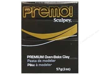 craft & hobbies: Premo! Sculpey Polymer Clay 2 oz. Black