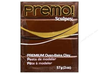 Premo! Sculpey Polymer Clay 2 oz. Burnt Umber
