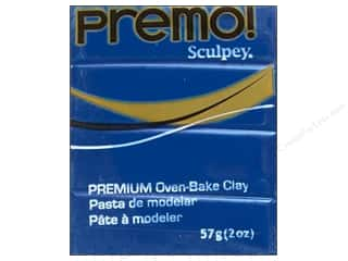 craft & hobbies: Premo Polymer Clay 2oz Cobalt Blue