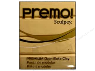 craft & hobbies: Premo! Sculpey Polymer Clay 2 oz. Ecru